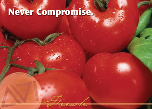 Never Compromise. AVI Fresh